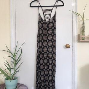 Mandala maxi dress